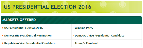 bet on the election paddy power