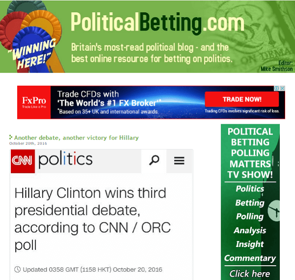 Mike Smithson Political Betting