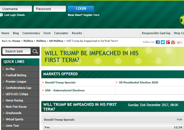 Paddy Power American Election