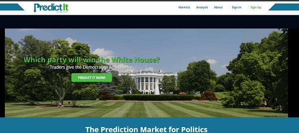 Paddy Power US Politics Predictit