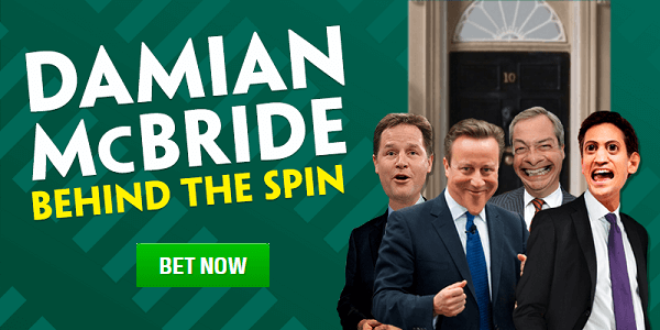 Paddy Power Bookie Election Odds